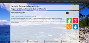 Nevada Research Data Center (NRDC)