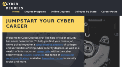 Cyber Degrees